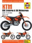 KTM EXC Enduro & SX Motocross (00 - 07) Haynes Manual